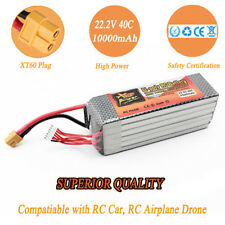 ZOP 22.2V 5500mAh 6S 40C XT60 Plug LiPo Battery For RC Heliccopter Airplane