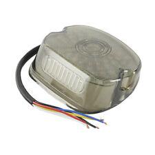 Motorcycle Smoke LED Tail Brake Light Turn Signal Lamp For Harley Dyna FLHT FLHR