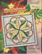 Fire Island Hosta 2016 Colorway Paper Piecing Pattern by Judy Niemeyer