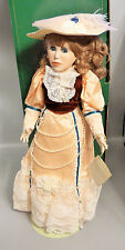 Lady Launceston Victorian Collection Porcelain Doll by Carmela Richards Signed