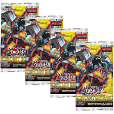 Yu-Gi-Oh TCG Circuit Break 4 Sealed Booster Packs CIBR Cards - Spyral Support
