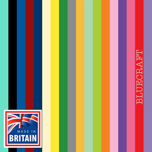 10 sheets x 12 inch Square Vanguard Mixed Colours Craft Card 240gsm  305 x 305mm