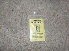 Fantasio Poker Mystery