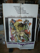 THEY CAME TO ROB LAS VEGAS, orig 1-sht / movie poster (Elke Sommer) - 1968