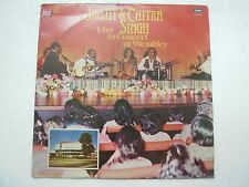 JAGJIT CHITRA SINGH LIVE IN CONCERT AT WEMBLEY 1981 RARE LP RECORD GHAZAL EX