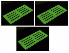 GLOW IN THE DARK STAIR MAT High Visibility Tread Safety Step Mats 39 x 18 cm UK