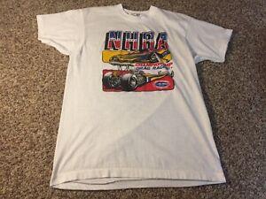 Original 1984 Vtg Hot Rod DRAG RACING NHRA T-Shirt 80s screen stars xl medium