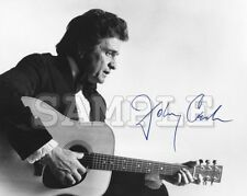Johnny Cash signed 5x7 Autograph Photo RP - Free ShipN! Ring of Fire