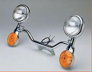 Chrome Light Bar National Cycle N922 For Honda Shadow ACE VT1100C2 750 VT750C