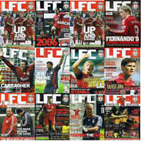 LFC Liverpool Football Club Official Magazine + Posters 2005 to 2007 – Various