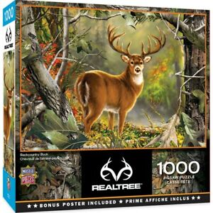 MasterPieces REALTREE Backcountry Buck 1000 Piece Jigsaw Puzzle