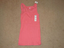 Ladies Old Navy Pink Fitted Tank Top (M)