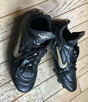 """Nike Tiempo 750 Soccer Cleats """" Football """" Boots Rubber Spikes Boys Size 3Y 3 Y"""