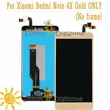 Gold For Xiaomi Redmi Note 4X LCD Display Touch Screen Assembly Full Replacement