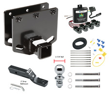 """Trailer Tow Hitch For 11-19 Toyota Sequoia w/ ZCI ModuLite Wiring & 1-7/8"""" Ball"""