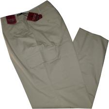 Pantalone uomo taglie forti 3XL 4XL 5XL 6XL 7XL cotone leggero beige Comfort