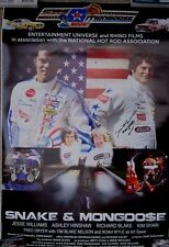DON PRUDHOMME TOM McEWEN SIGNED 2013 NHRA AHRA RACING THE MOVIE POSTER