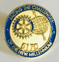 Facing The Challenges Of The Millennium Rotary International Club Pin Badge (C3)