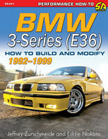 Bmw E36 Modify Build Book How To Manual Shop 3-Series 92-99