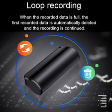 Spy Audio Voice Recorder 8GB JNN Q70 Voice Activated Mini Clip On Magnetic