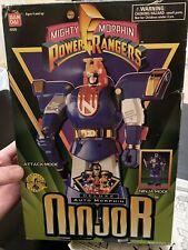Power Rangers Mighty Morphin 1995 Bandai DELUXE NINJOR Ninja BLUE Auto Morphin