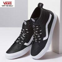 Vans OTW Lettering Webbing Sk8-Hi Black Fashion Sneakers,Shoes Men's VN0A2XSBUKM