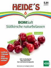 BOMSaft Süßkirsche naturbelassen 5L-BiB - 1er-Pack