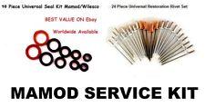 Mamod  10 PC seal kit.  O ring kit.  Washer Kit. 24 PC Rivet Set - Service Pack