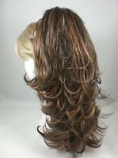 Reversible Long Wavy/Straight Ponytail with Claw Clip - Create Charro Look!