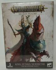 Warhammer Age of Sigmar 87-36 Broken Realms - King Sythus Nemmetar - New Sealed