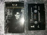 U2 - WHERE THE STREETS HAVE NO NAME -  CASSETTE SINGLE