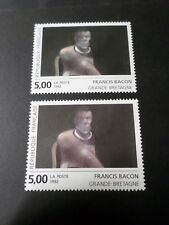 FRANCE 1992, VARIETE COULEURS, timbre 2779, TABLEAU BACON, neuf**, MNH STAMP