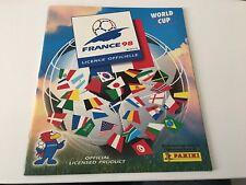 PANINI FRANCE 98 EMPTY ALBUM WORLD CUP 1998 NO STICKERS EXCELLENT RARE