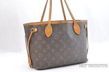 Authentic Louis Vuitton Monogram Neverfull PM Tote Bag M40155 LV 32868