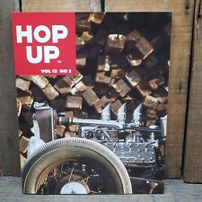 HOP UP MAGAZINE V13 3 HOT ROD BOOK EARLY CUSTOMS FLATHEAD V8 VTG PHOTOS HARLEY