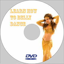 Learn Belly Dancing 2 Hour DVD**** BEGINNER TO EXPERT****ETC****
