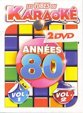 Les Tubes du Karaoke : Années 80 vol. 1 & 2 (2 DVD)