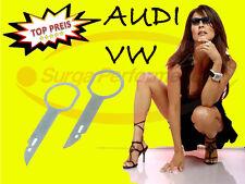 AUDI VW SKODA Desbloqueo Estribos Radio Llave S Nueva / Embalaje Original