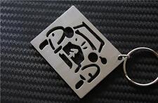 Citroen 2CV FRONT keychain keyring Schlüsselring porte-clés SAHARA DOLLY BAMBOO