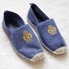 Polo Ralph Lauren Polo Crest Barron Espadrille Loafers Shoe Mens Size 9.5