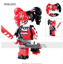 Harley Quinn (roller skates) Batman Movie custom minifig Fits Lego - UK SELLER