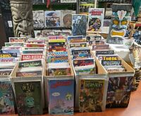 Comic Book Megalot--Box of 70-All DIFFERENT- INDEPENDENT PUBLISHER Dream Lot