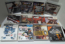 **BROKEN ~ AS IS ~ Lot of 20 Scratched and Broken games ~ PlayStation 3