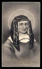 """santino-holy card""""S.LEGA-S.LUISA DE MARILLAC"""