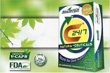 C24/7 Natura Ceutical Herbal Food Supplement Antioxidants 30capsules 4 Boxes
