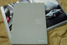 2008 ASTON MARTIN V8 VANTAGE hardcover brochure book Prospekt 703907