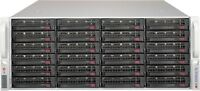 "Supermicro SuperChassis CSE-846 X10DRi-LN4+ 24x 3.5"" SAS/SATA 2x PSU CTO Server"