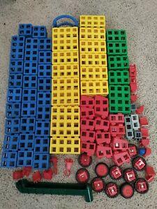 Rokenbok Building System Assorted Construction  Blocks Wheels Misc