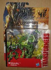 Transformer 4 Generation AOE Deluxe DINOBOT SNARL Movie Age Stegosaurus Dinosaur
