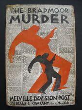 Melville Davisson Post - THE BRADMOOR MURDER (1929) – Detective Short Stories